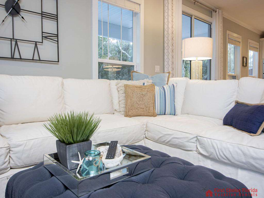 Seaside Retreat - Living Room Sectional