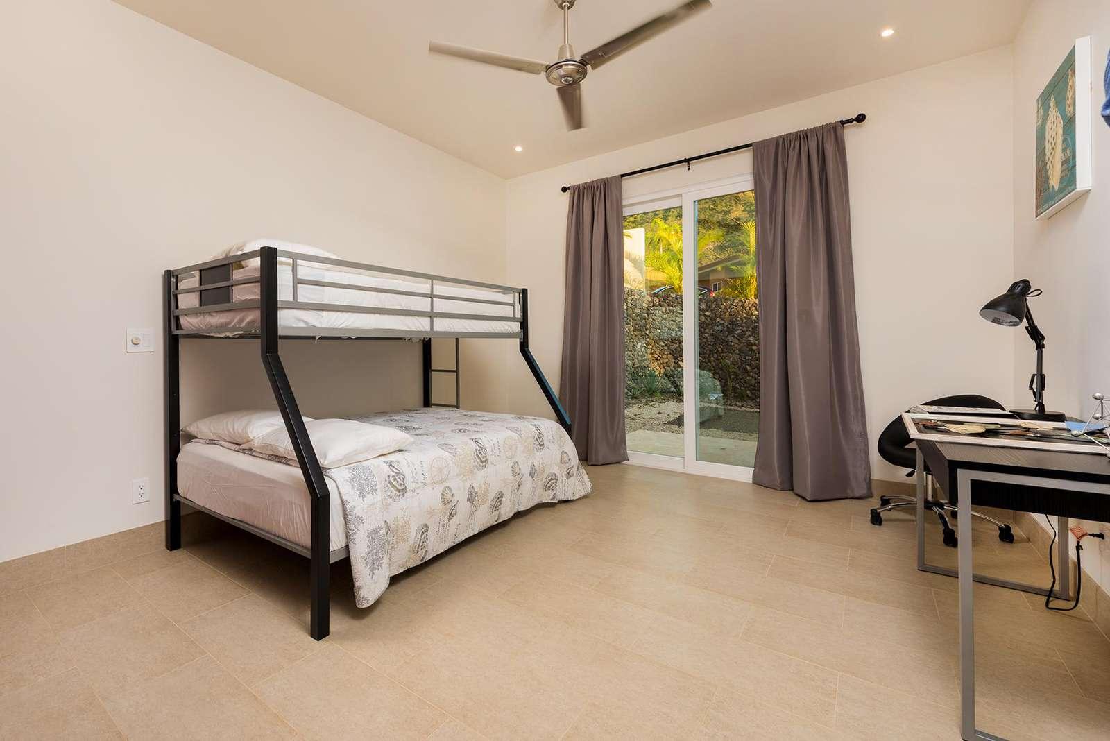 Guest bedroom, bunk bed