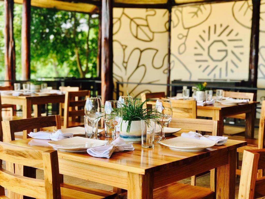 Gracia, on site restaurant at Mar Vista