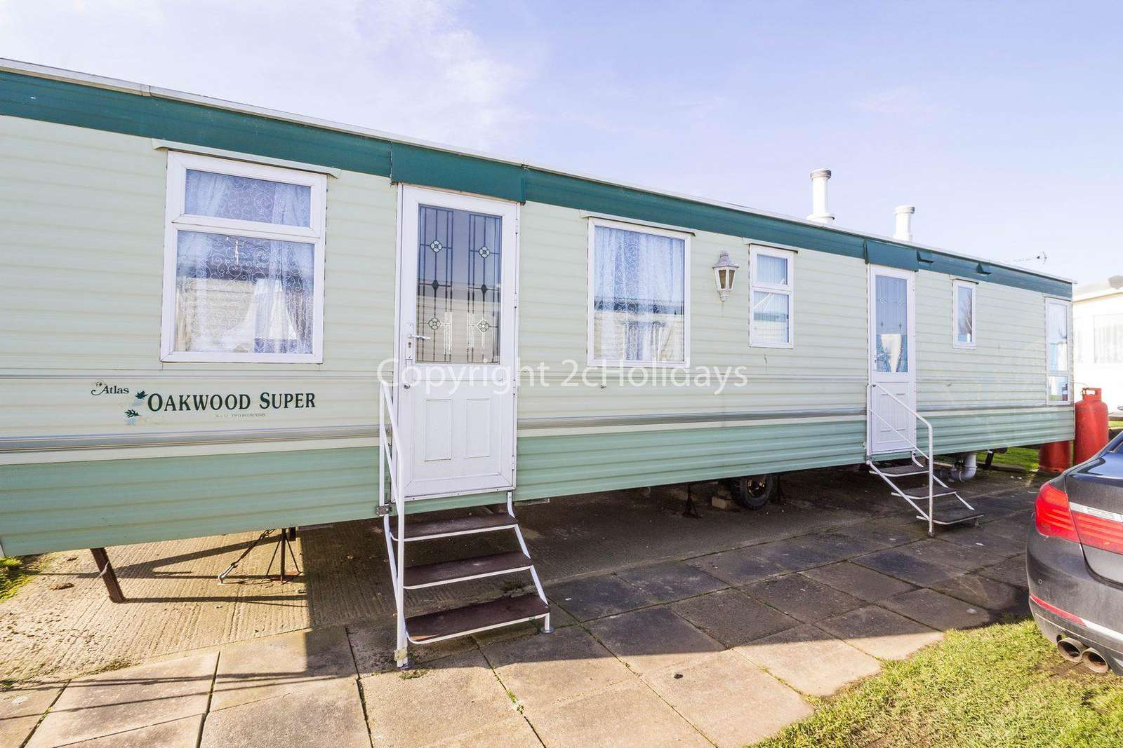California Cliffs Holiday Park, in Scartby. Perfect for families.