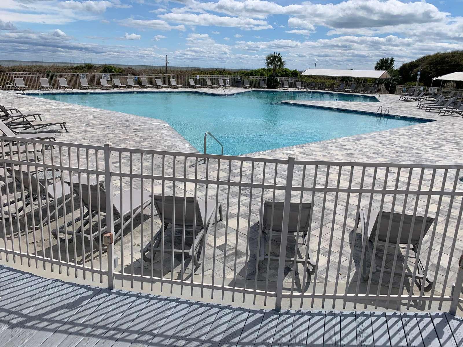 Largest Ocean Front Pool on Hilton Head