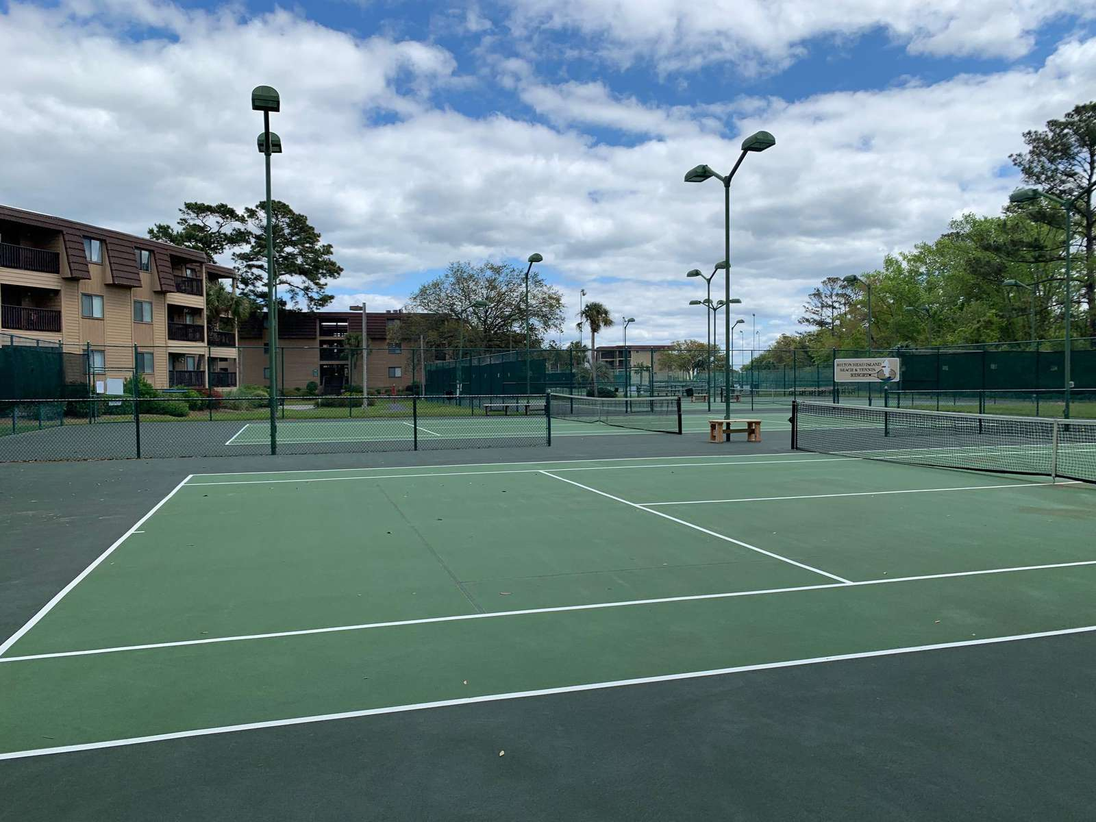 8 Tennis Courts and 2 Pickle Ball Courts