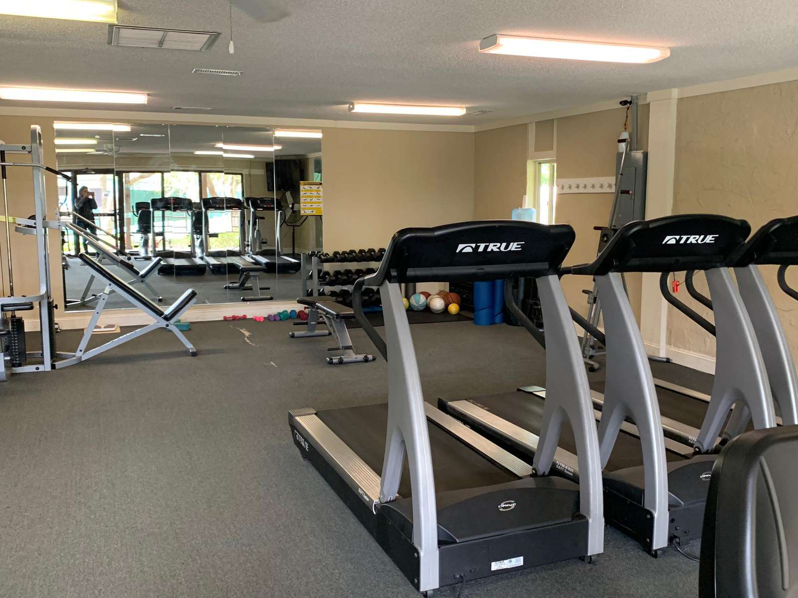 Work out Facility at the Resort