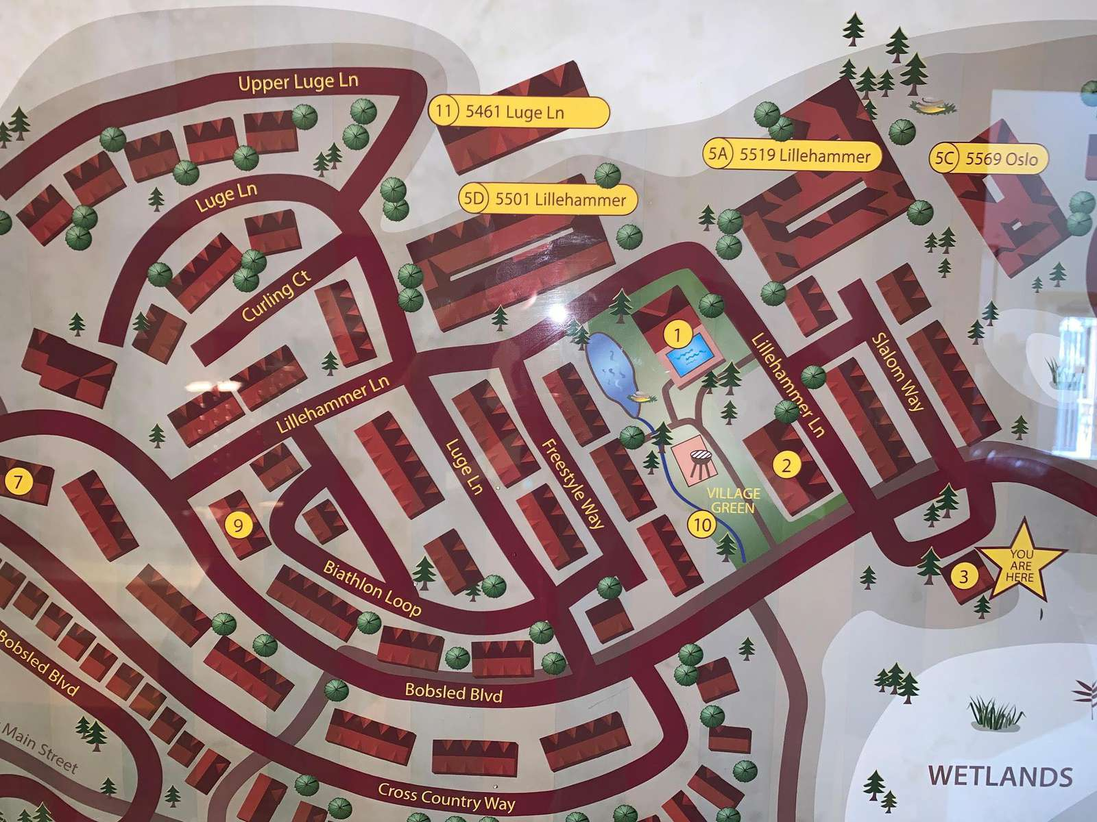 Bear Hollow Community Map