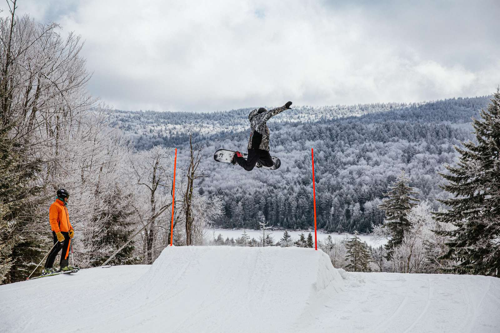 Seek out the edges of your snowboarding skills