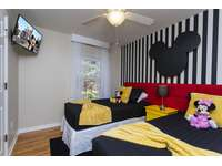 Bedroom #4 with 2 Twin Beds with Smart TV thumb
