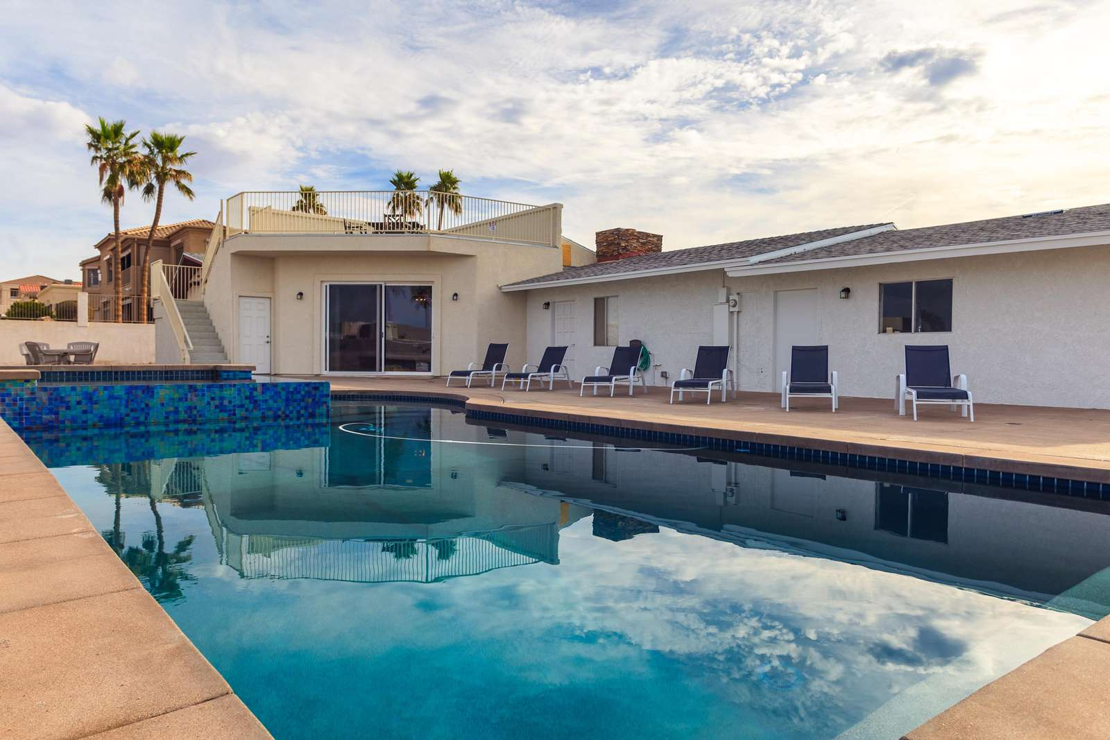Custom Heated Pool and Spa - property