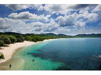 Amazing playa conchal, white sand beach thumb