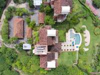 Aerial view of the Malinche condos and pool area thumb