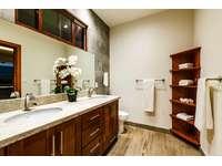 Master bathroom, dual vanity, oversized walk in shower & outdoor shower thumb