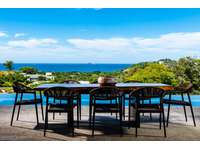 Ocean and mountain views from the private pool & garden area thumb
