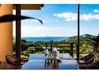 amazing ocean and mountain views from the covered terrace area thumb