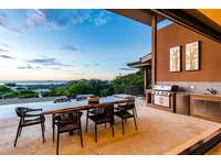 Outdoor dining area with a view thumb