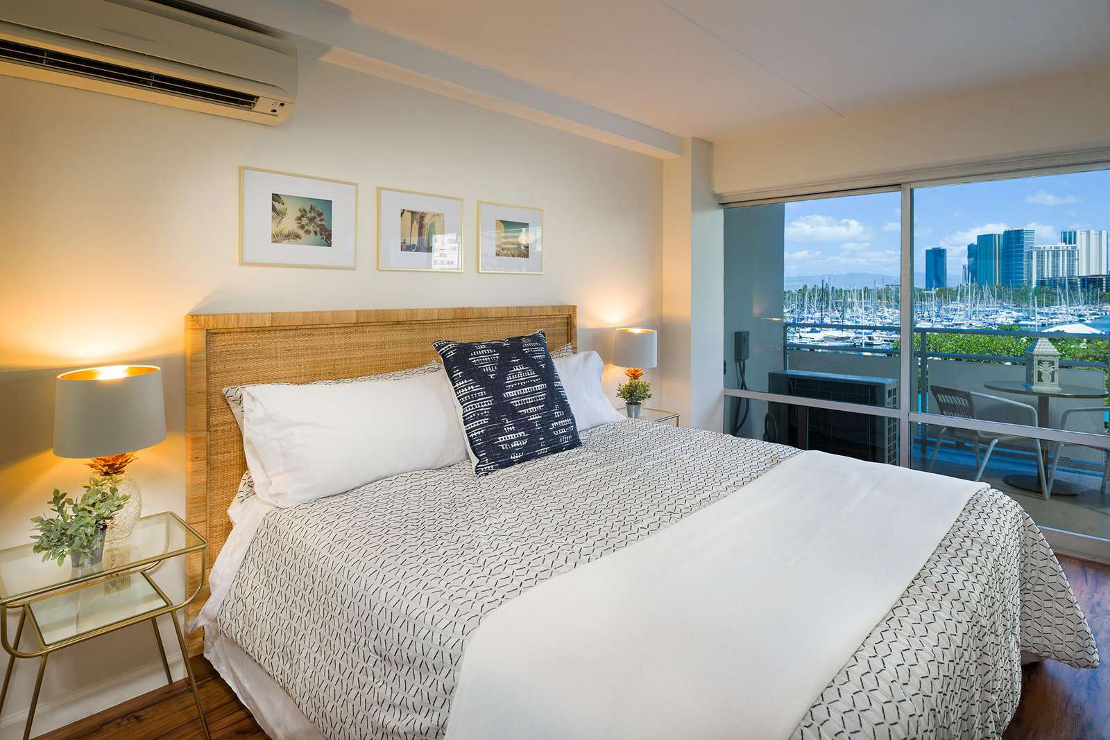 Ocean views right from the comfort of your King size bed!
