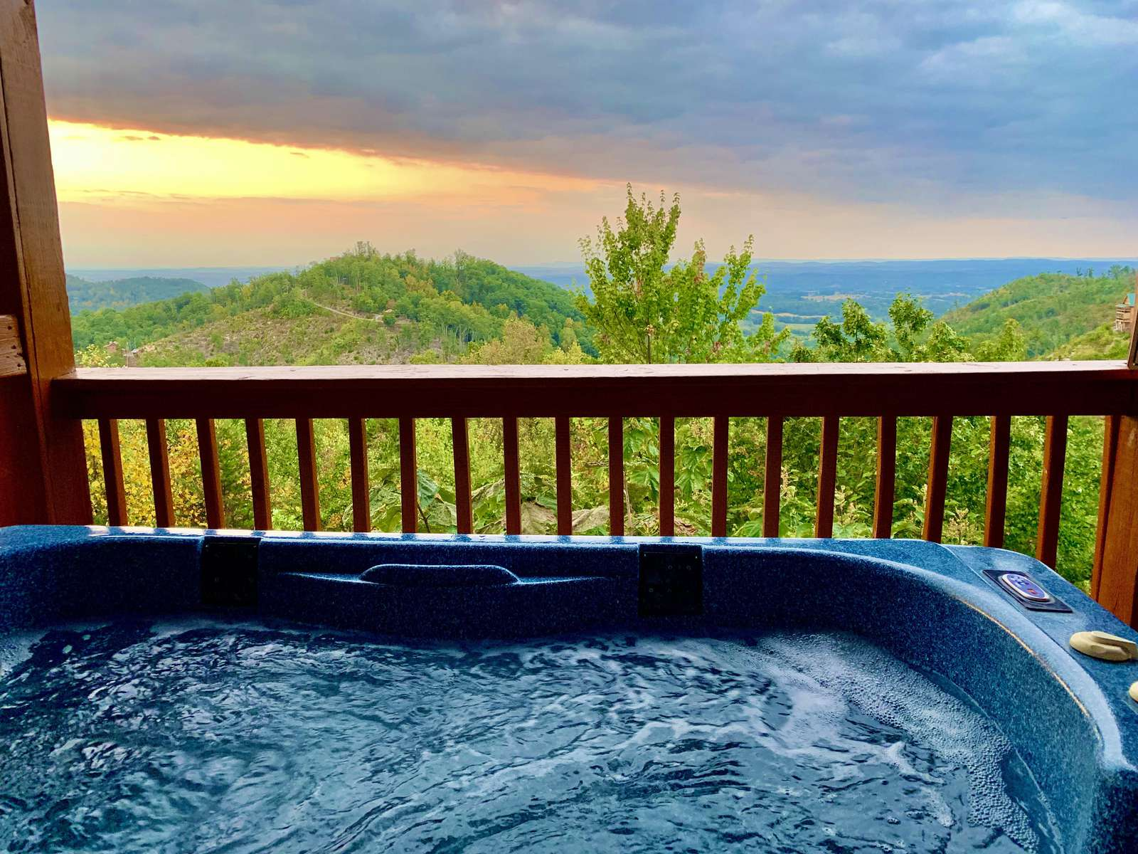 View from Hot Tub - property