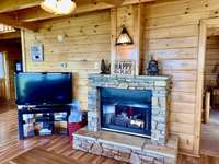 TV and Fireplace thumb