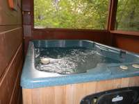 Hot Tub in Screened In Back Porch thumb