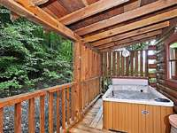 Hot Tub on Back Deck thumb