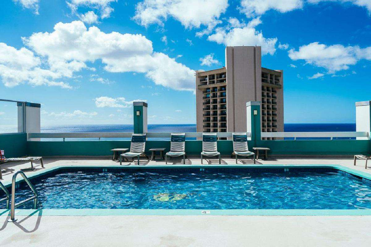 Rooftop Pool Deck with Panoramic Ocean Views!