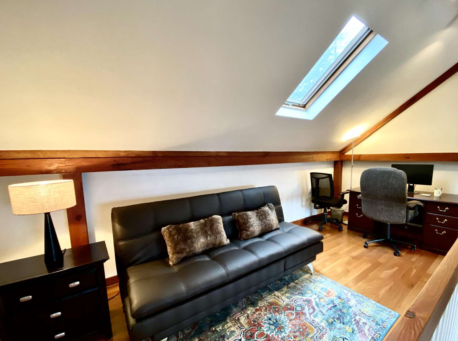 """The Loft Office is the ideal """"Work from Home"""" Space and offers a High Quality Futon"""