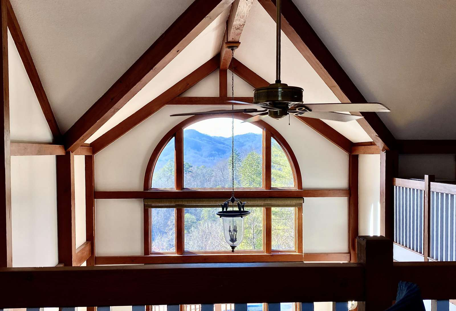 Mountain Views from the Loft Office