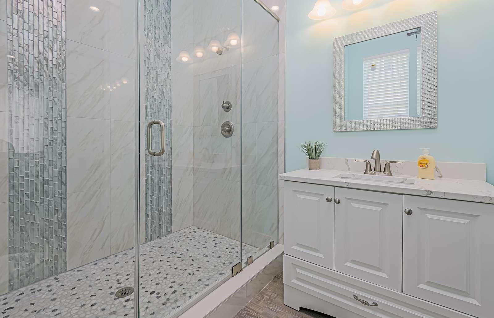 All baths are stocked with basic bath linen!