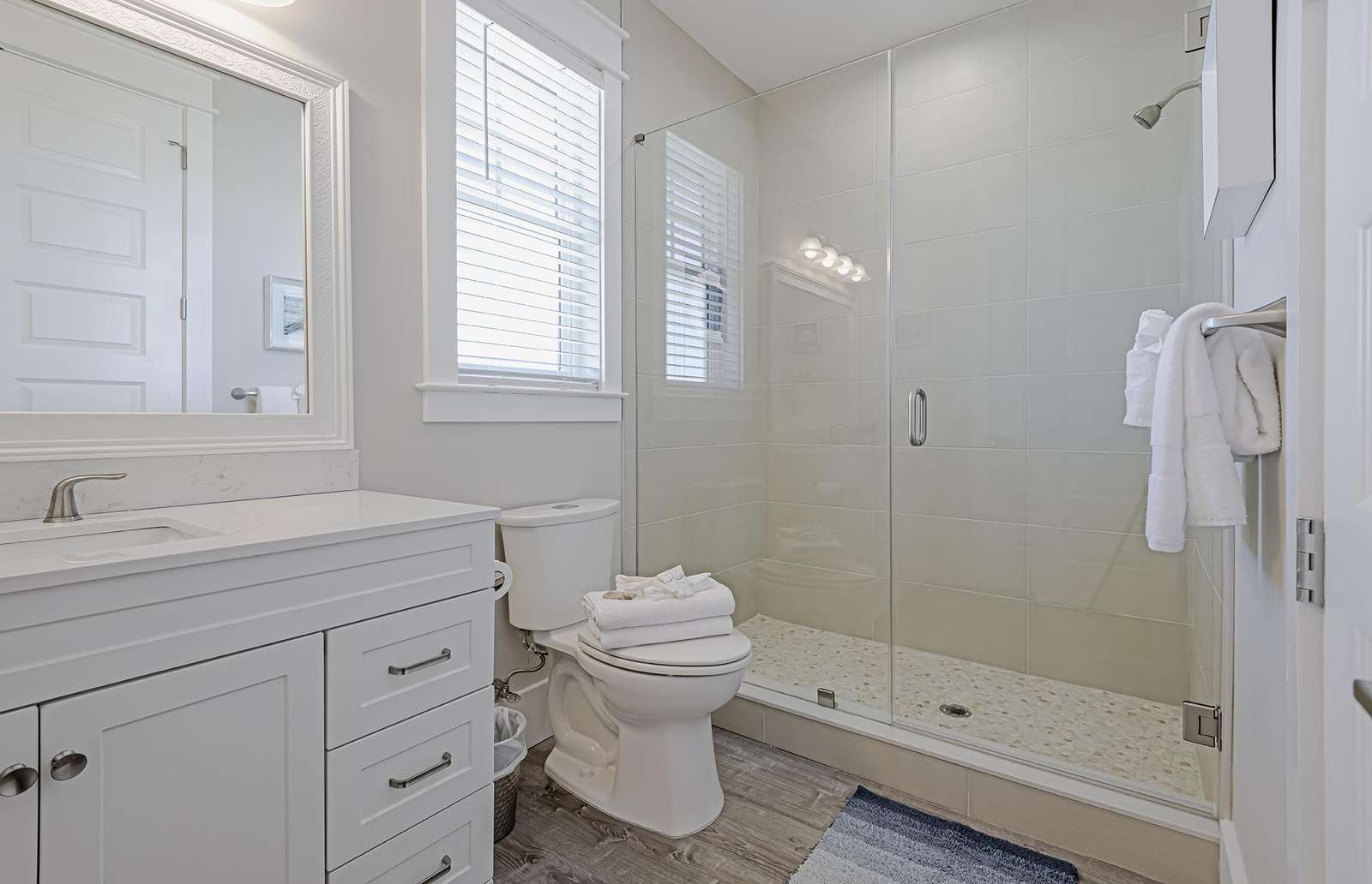 The 3rd full bath with walk-in shower!