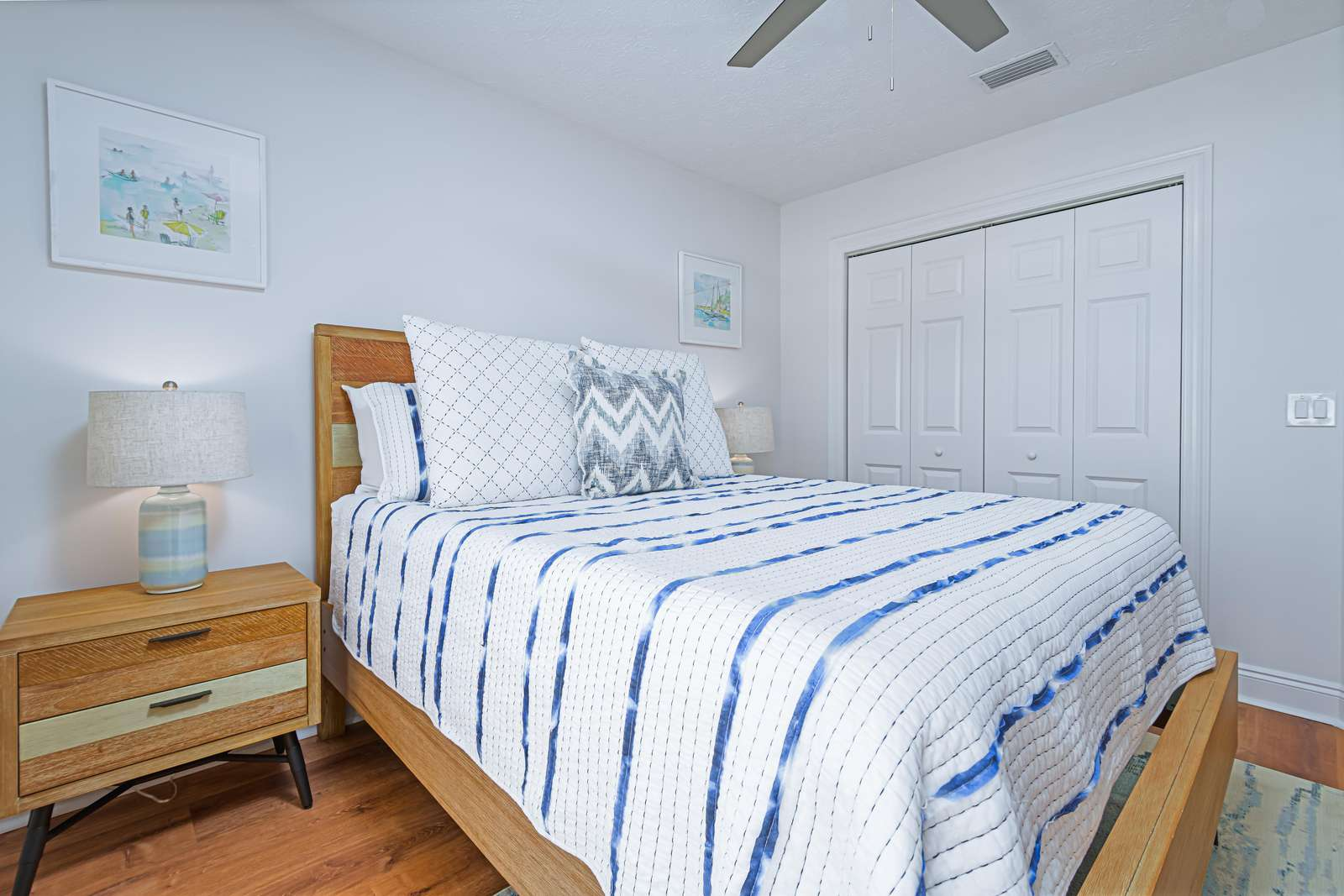Great storage in all bedrooms!