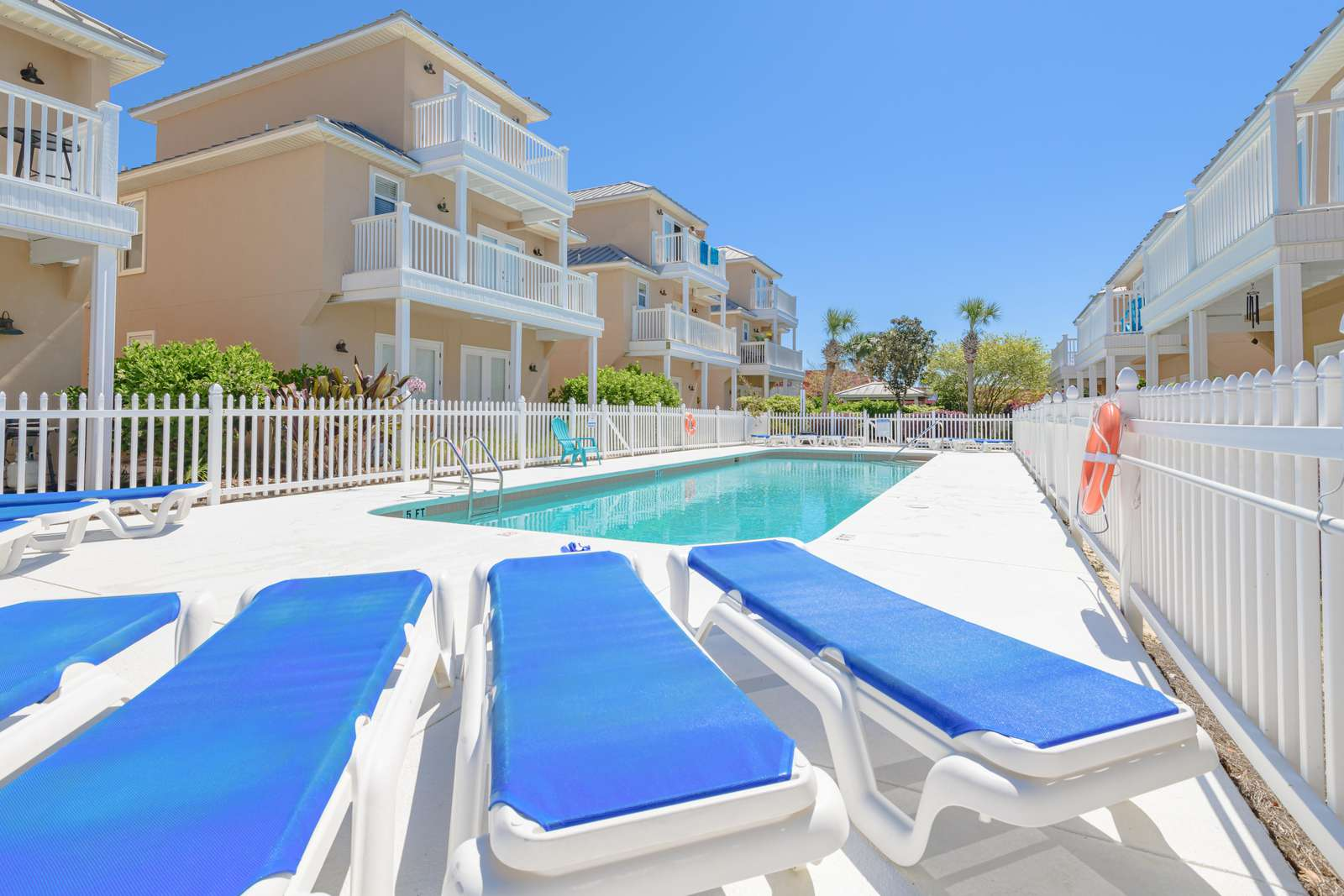 Grab a drink and a seat at the pool!