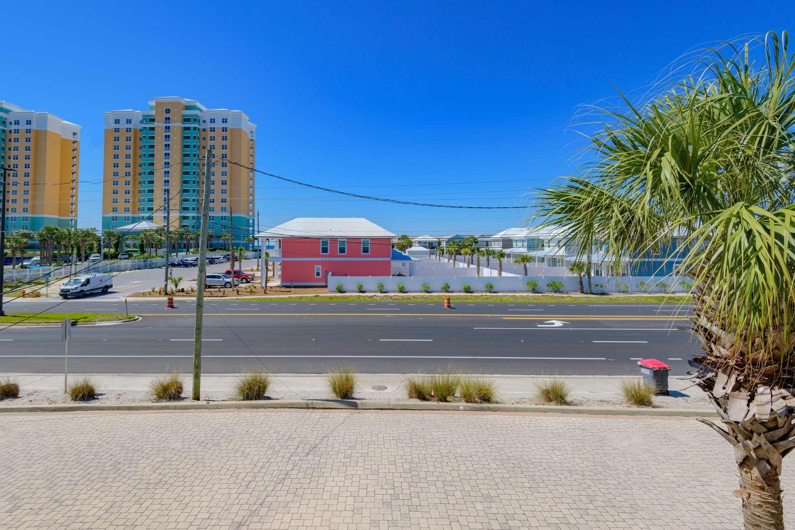 Just off Thomas Drive & Beach Access 16 across the street!