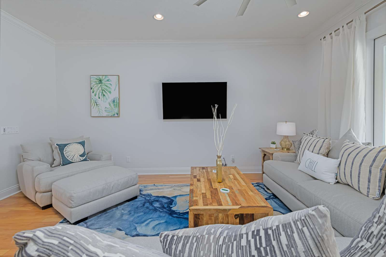 Open layout meant for relaxing with those you love!