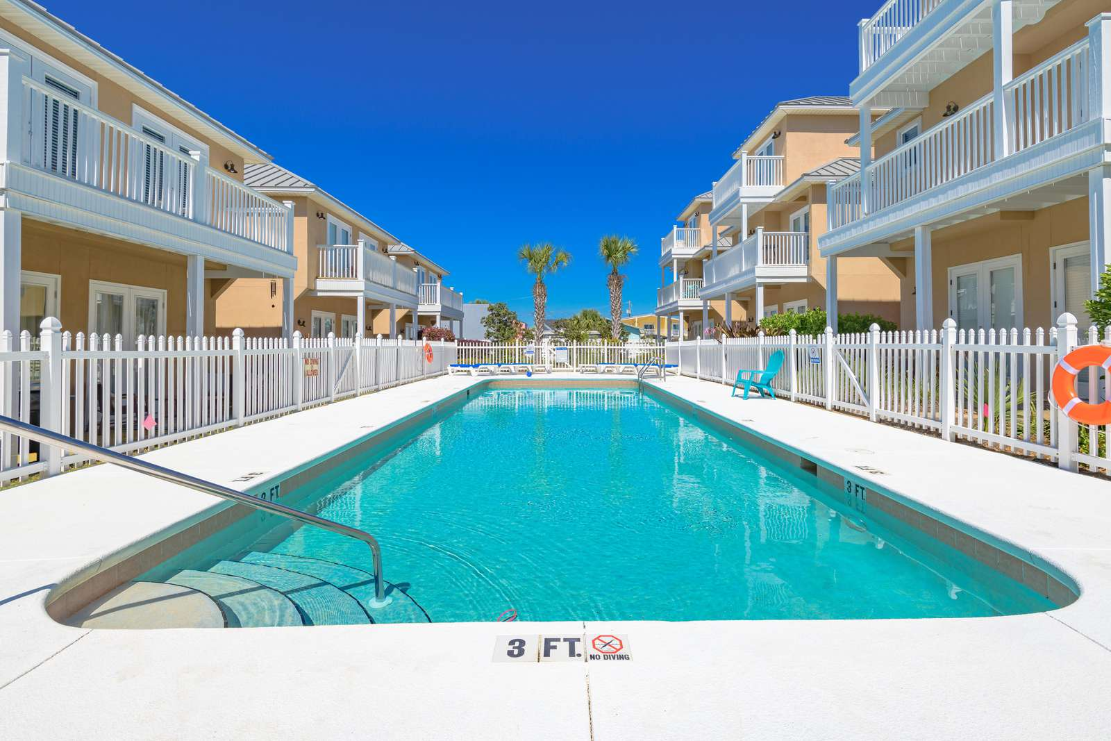 Take a dip in the pool right out your back door!