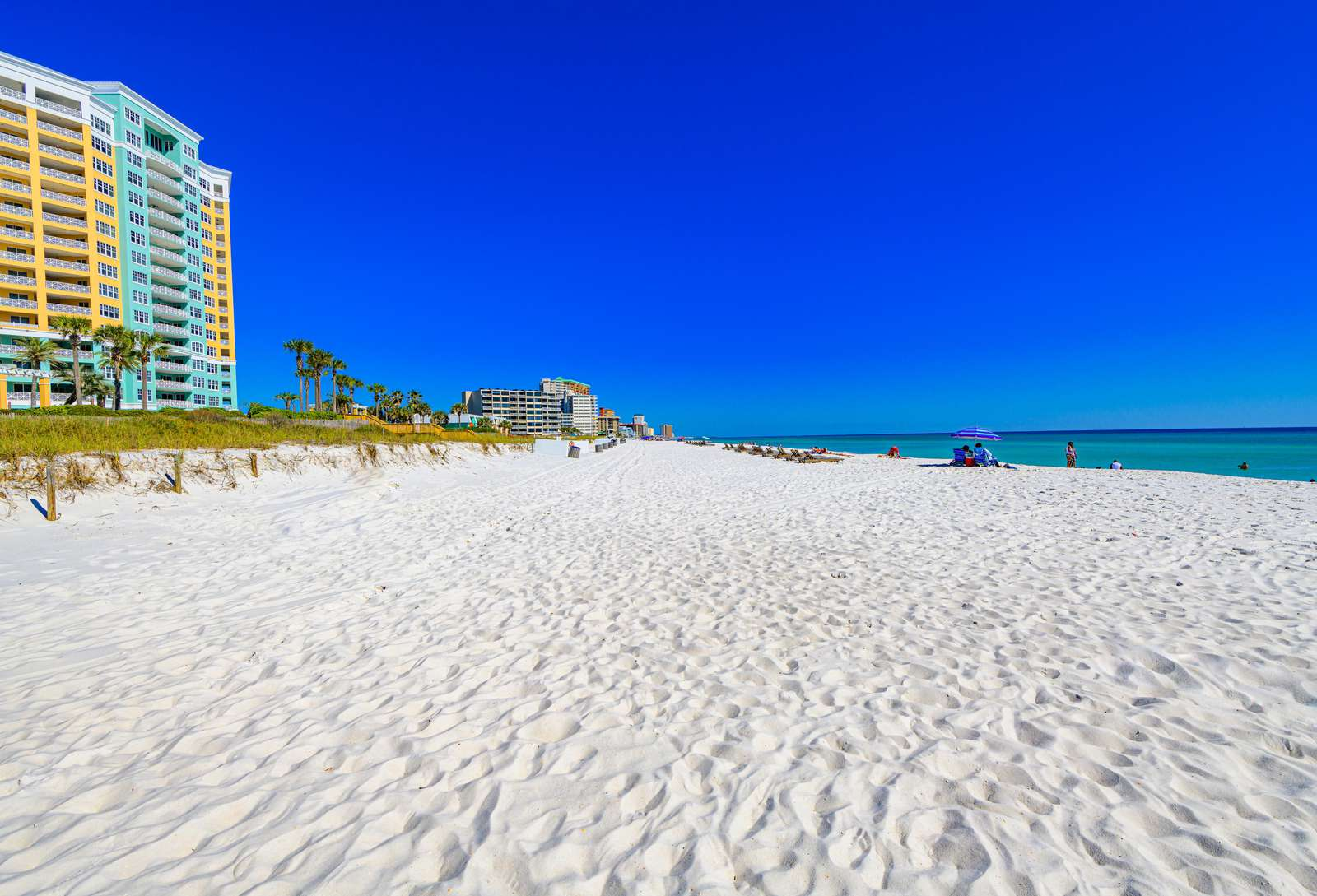 Once you hit the beach you'll never want to leave!