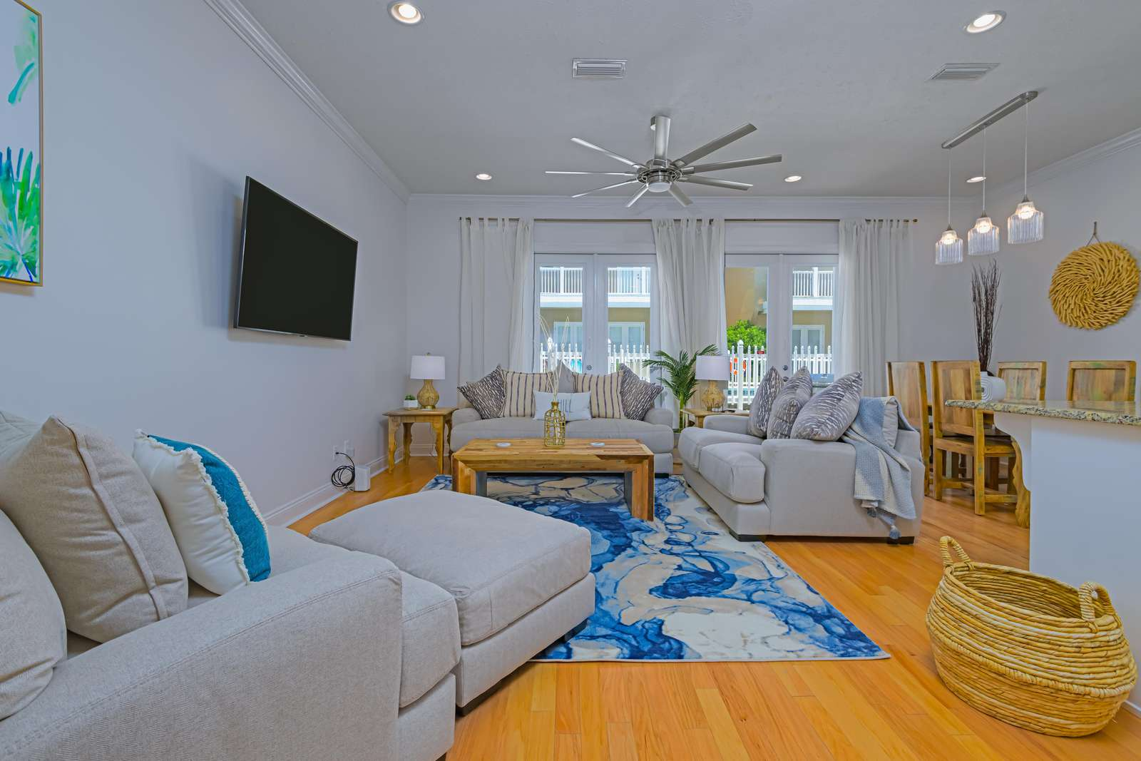 Comfort was in mind when choosing furnishings!