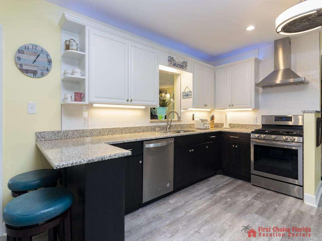CD Beach House - Kitchen