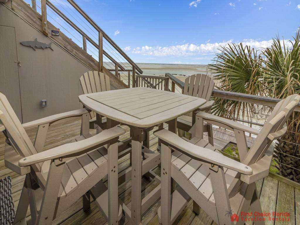 Sea Matanzas 4 -  Deck off of Living Room