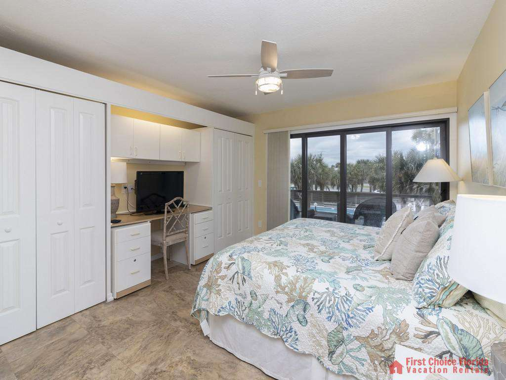 Sea Matanzas 4 - Guest Bedroom with King Bed