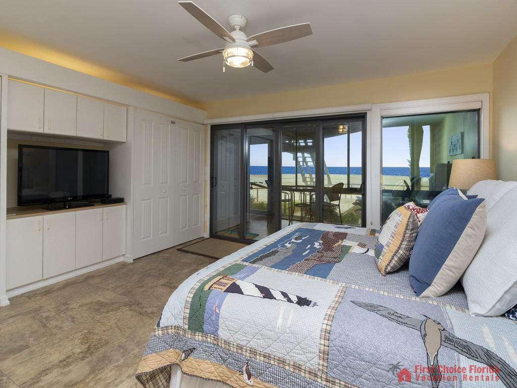 Sea Matanzas 4 - Master Bedroom TV