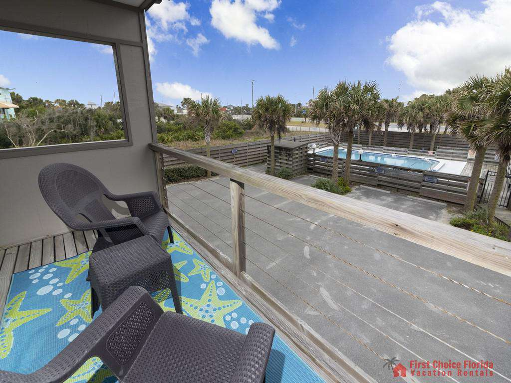 Sea Matanzas 4 - Bedroom Balcony with View of Swimming Pool