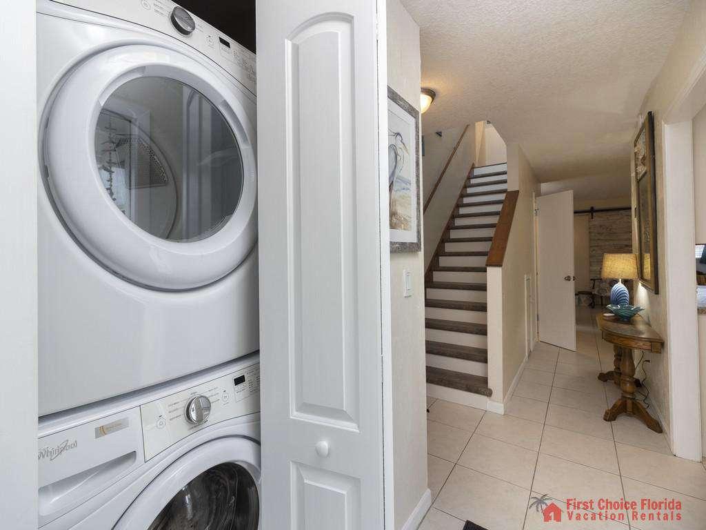 Tarpon Run 35 -  Washer and Dryer