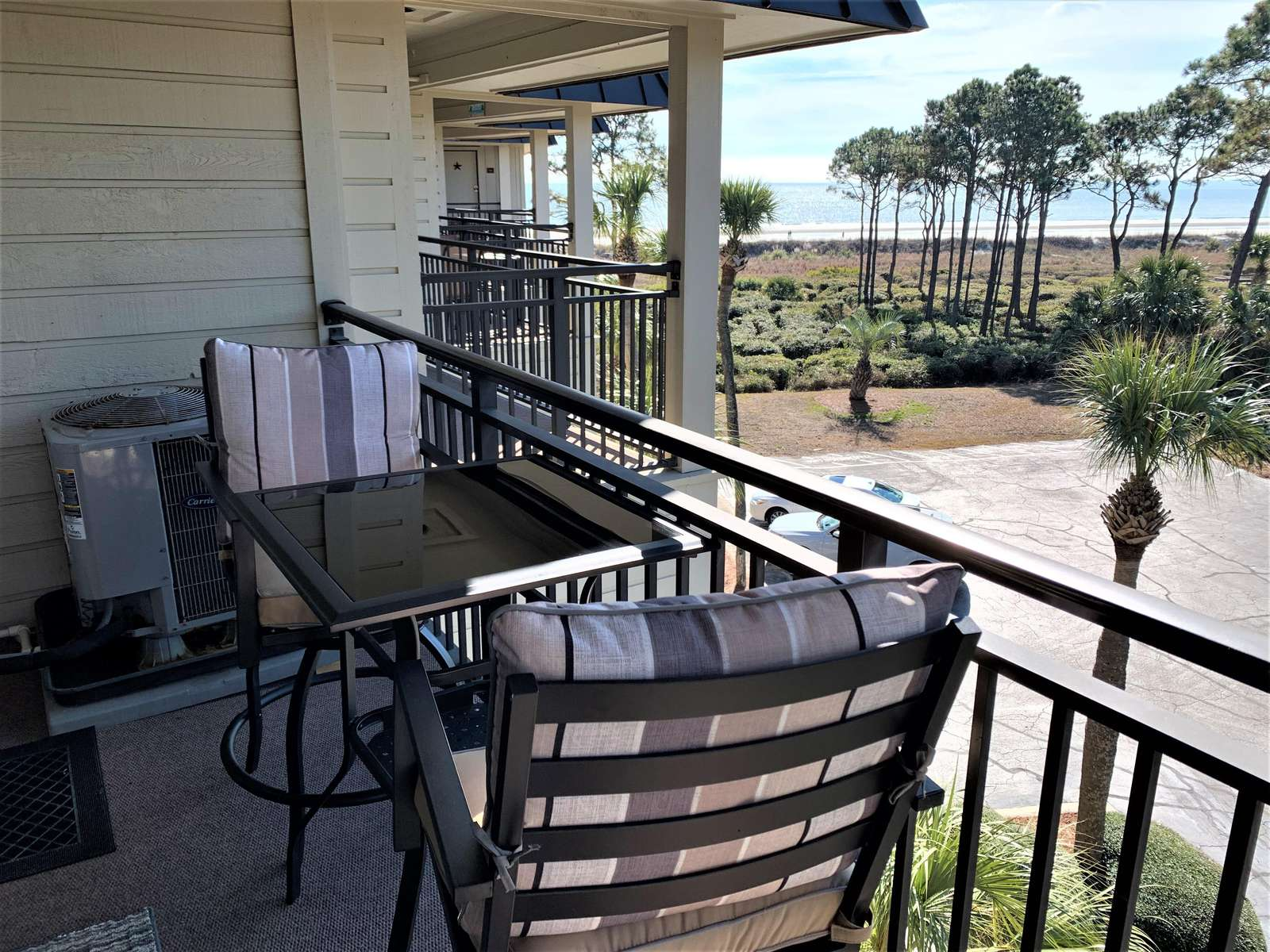 Coffee or Dinner from the Balcony with Ocean Views