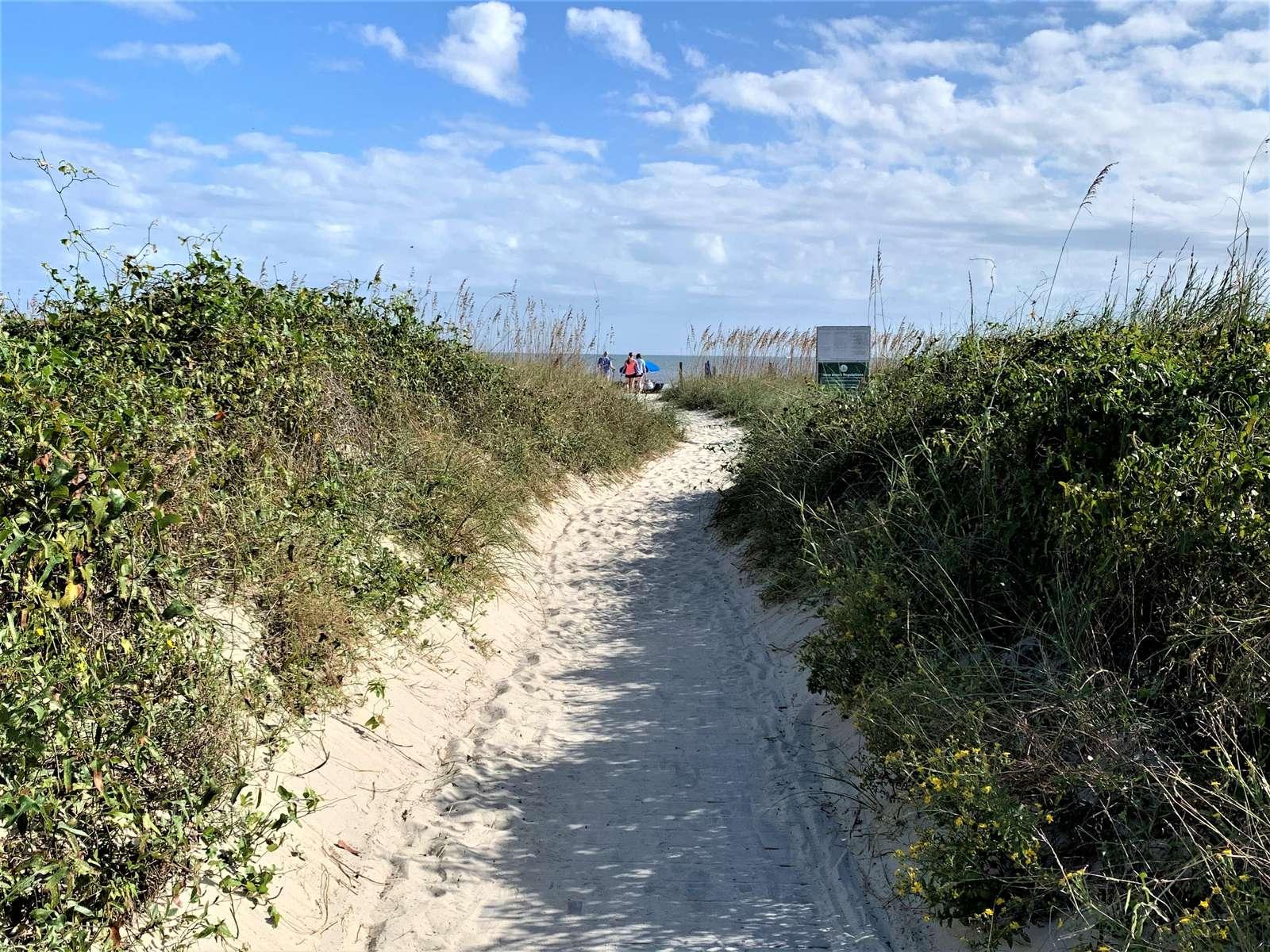 Private Beach Entrance