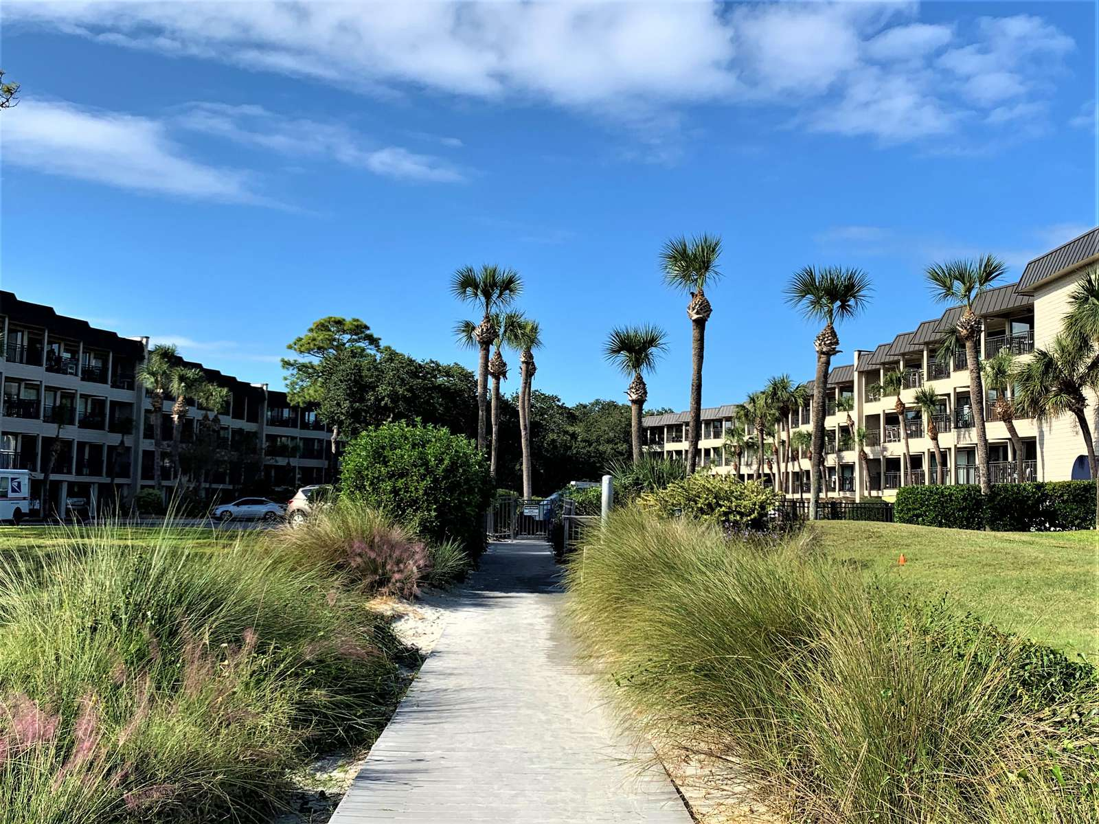 Landscaped Grounds and only 2 Buildings at Seaside Villas