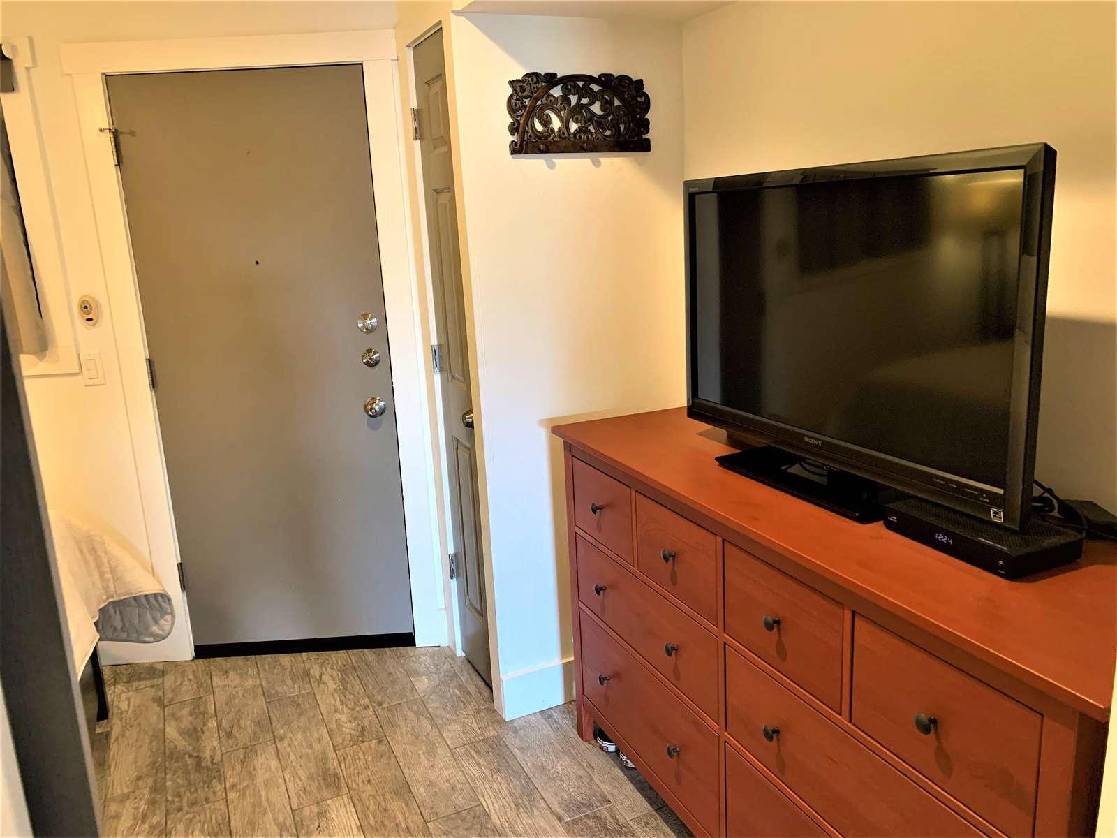 Smart TV in Bedroom