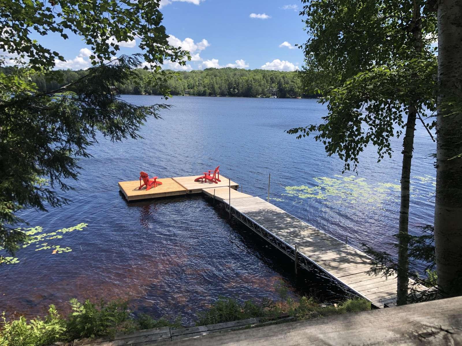 Menominee Lake - property