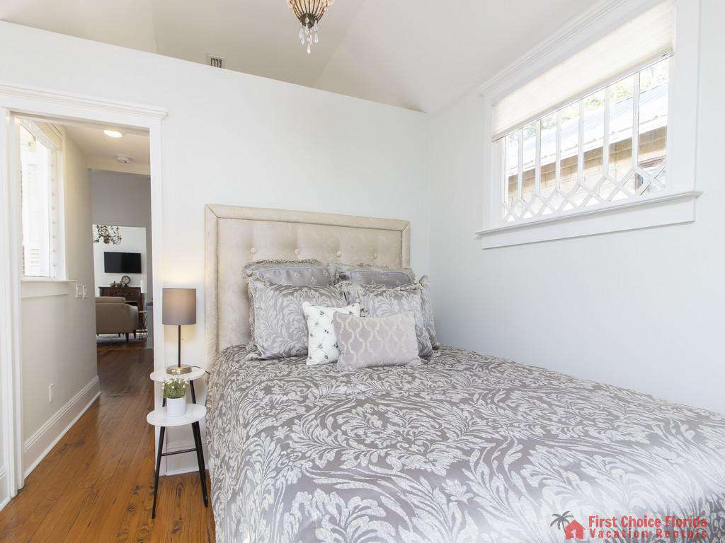 50 St. Francis Street -  Bedroom with Queen Bed