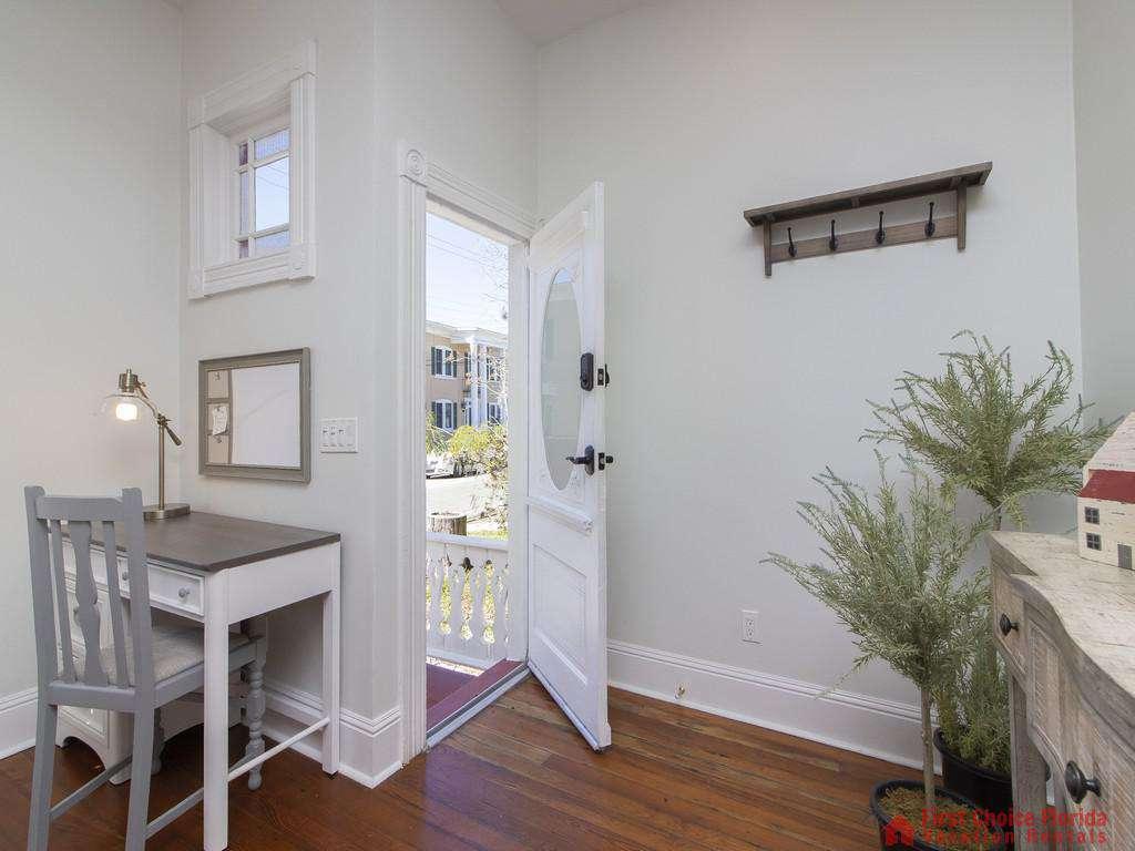 50 St. Francis Street - Living Room Front Door