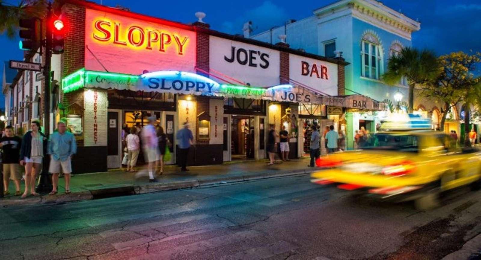 Visit Sloppy Joes Key West