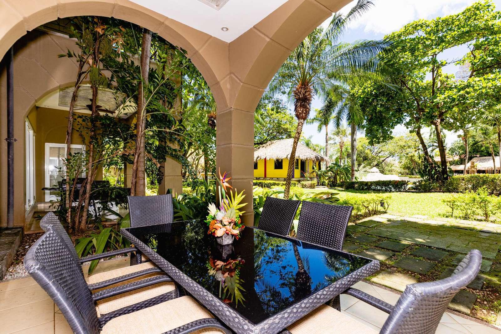 Matapalo 104, a poolside condo at the Diria Resort
