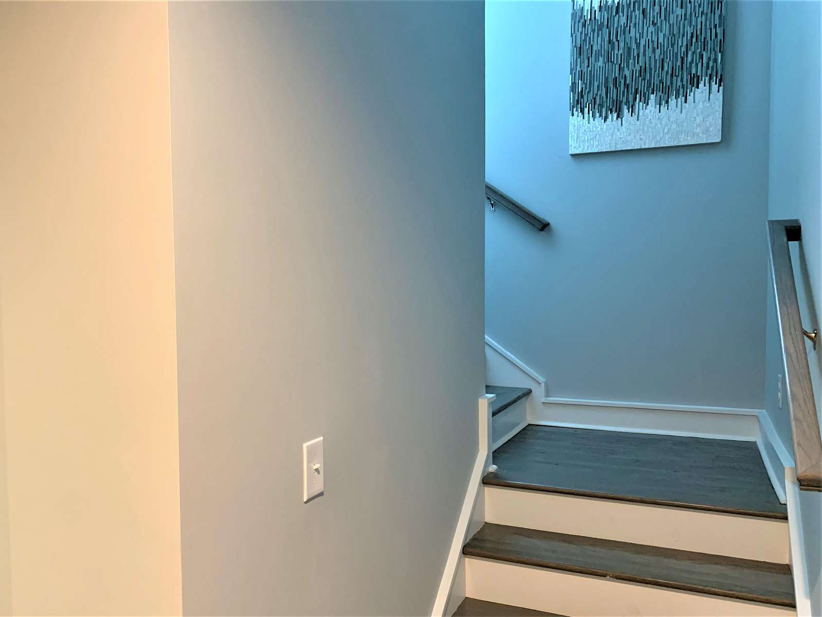 Stairs Leading up to 3rd Level of Home